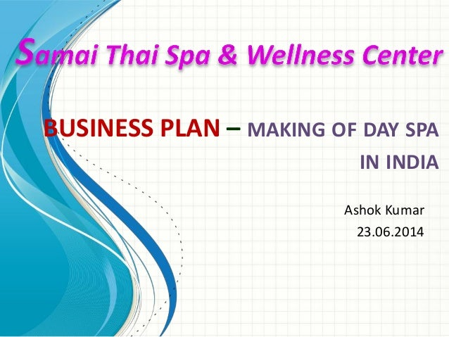 Buy business plan for a spa