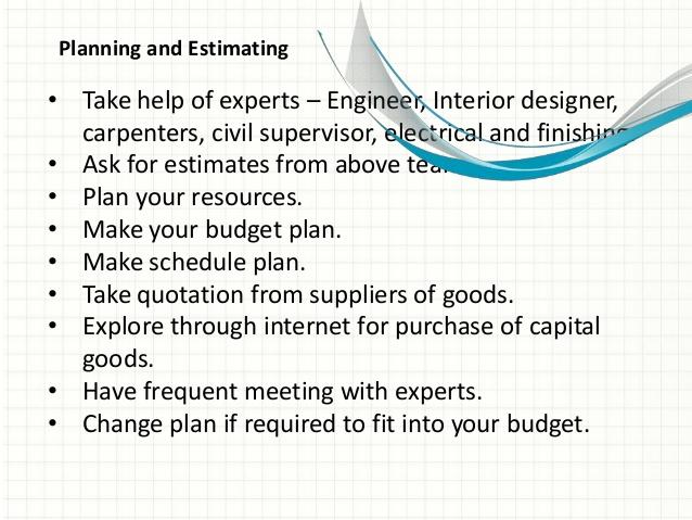 Home interior design business plan sample