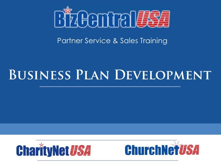 Partner Service & Sales Training<br />Business Plan Development<br />