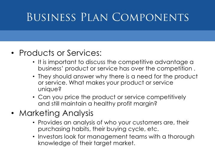 Training company business plan