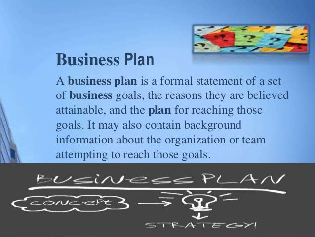 Business plan new product