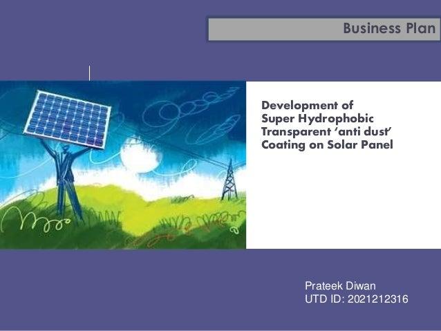 A Sample Solar Energy Farm Business Plan Template
