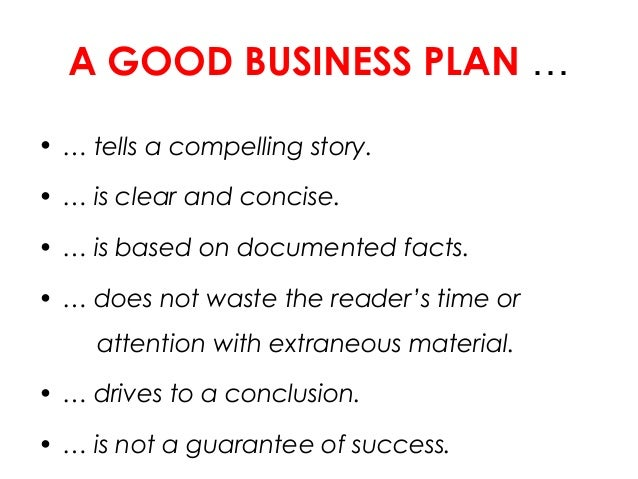 Concise Business Plan
