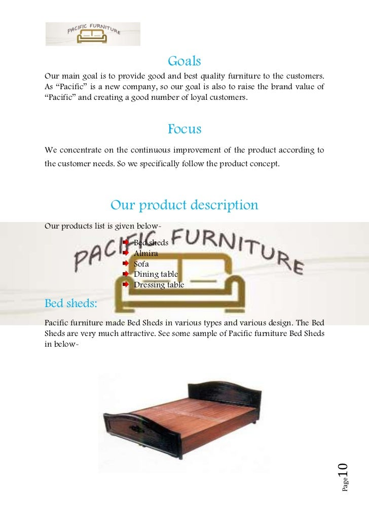 Sample business plan office furniture