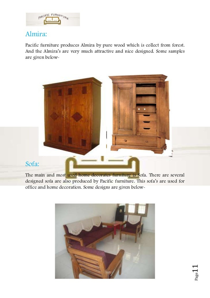Furniture Manufacturer Sample Business Plan
