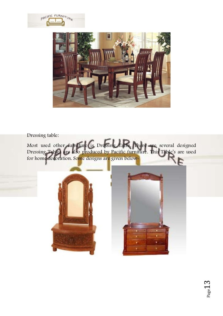 Business Plan Sample On Furniture