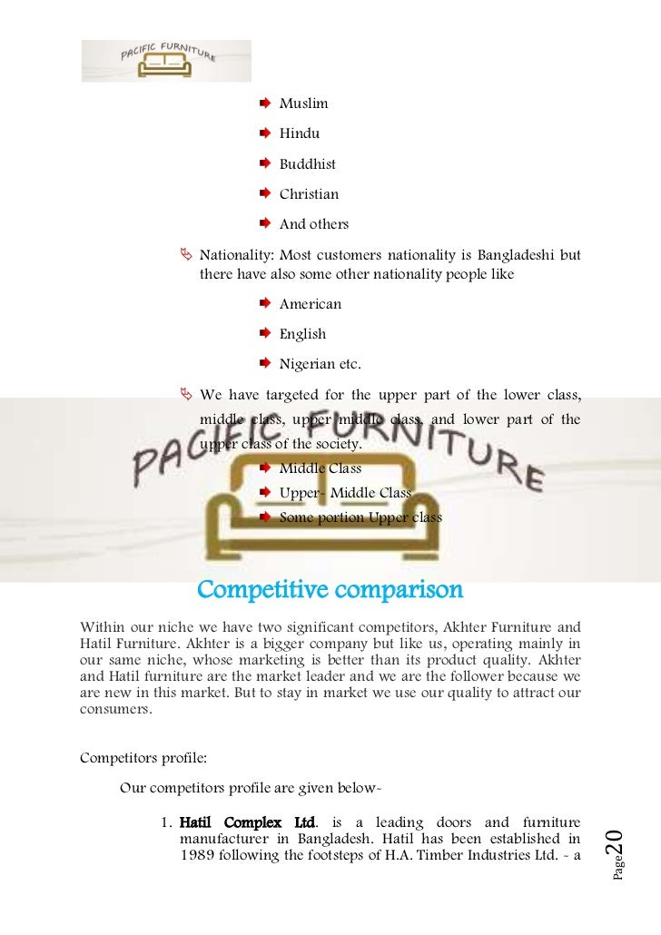 Custom furniture business plan webege com