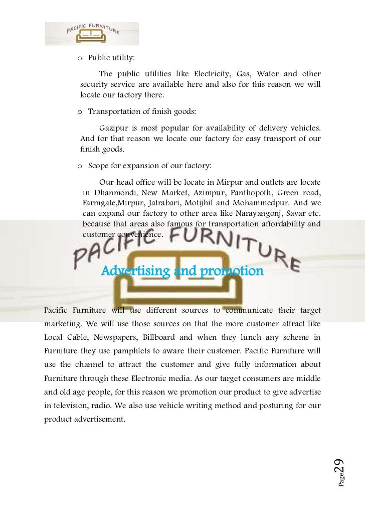 Furniture & Furnishings companies in Pakistan