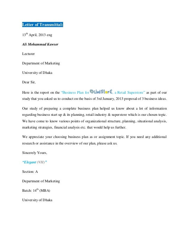 Business Letter To Offer Services
