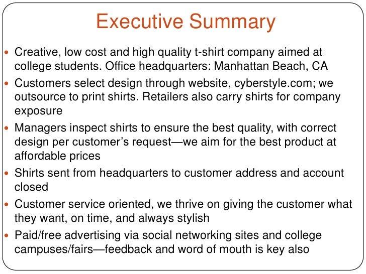 Manufacturing business plan sample pdf