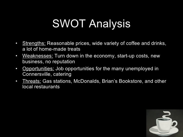 swot analysis of power root cafe Problems with basic swot analysis can be addressed using a more critical power swot history of swot analysis having arrived on this page you have probably surfed the internet and scoured books and journals in search of the history of swot analysis.