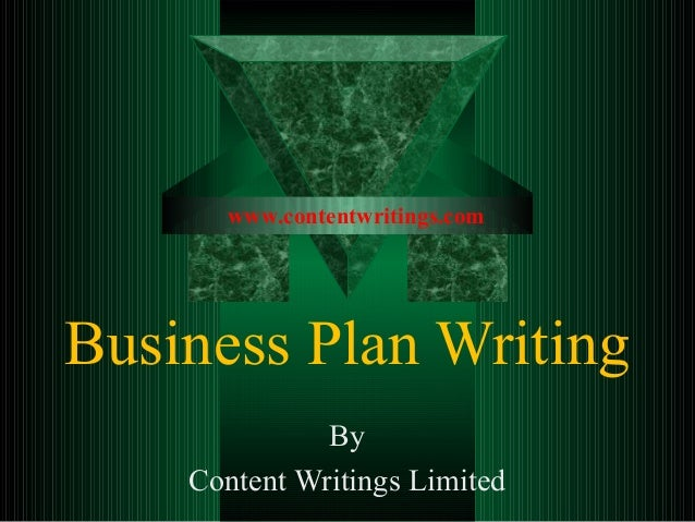 Business Plan WritingByContent Writings Limitedwww.contentwritings.com
