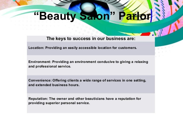Get Your Professional Hair and Beauty Salon Business Plan Today