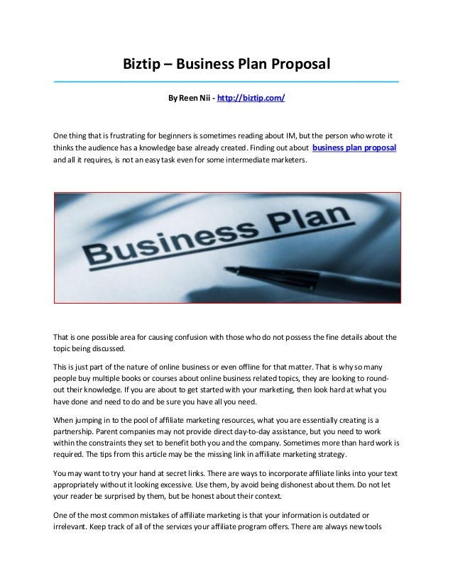 proposal plan You typically don't need a proposal plan instead, you will follow the franchisor's business plan thanks yes no  to write a business proposal, start .
