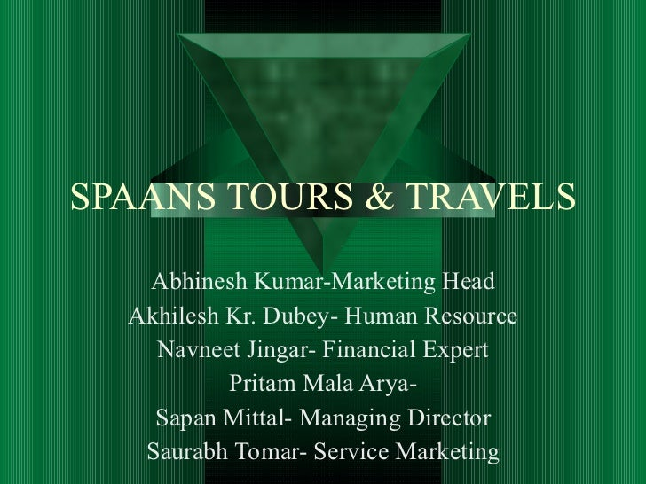 Business plan of travel agency