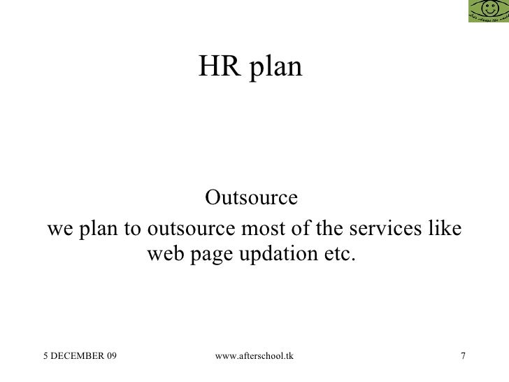 Outsource business plan