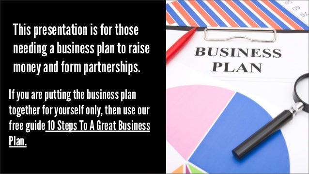 Business plan reviews
