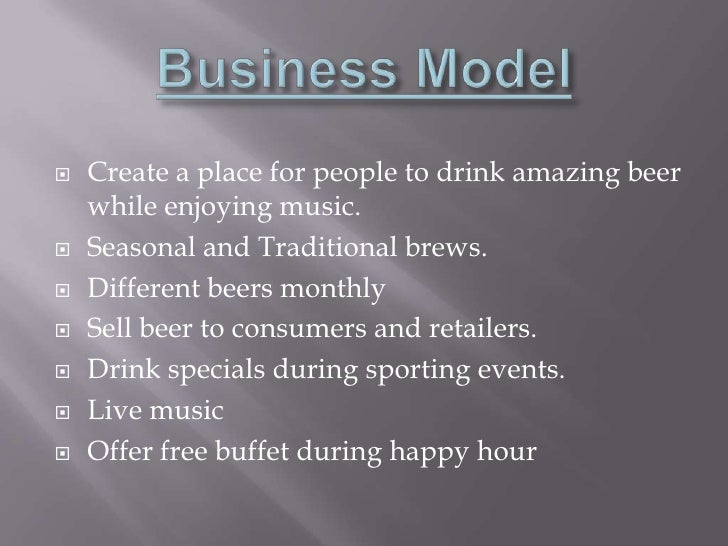 Home brew store business plan home design and style for Home decor business plan