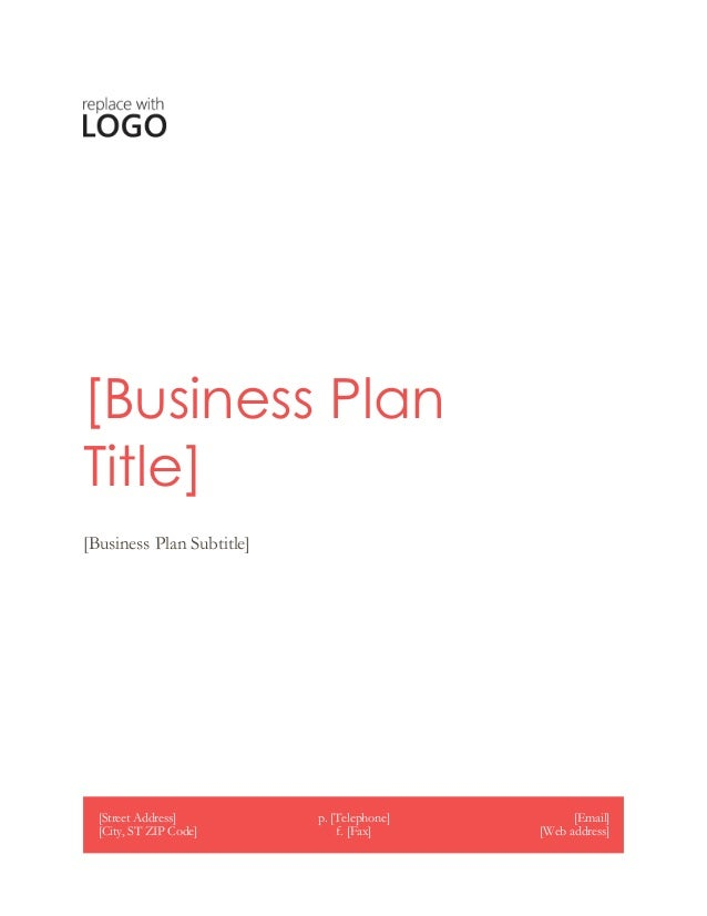 Address business plan