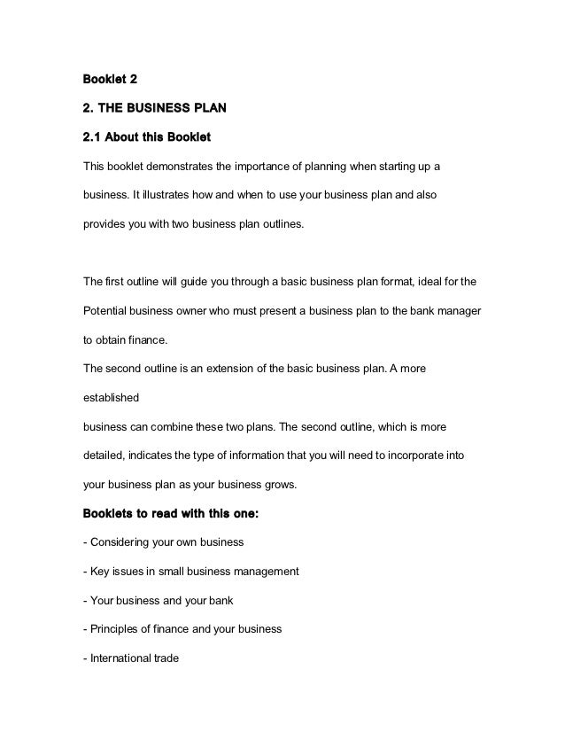 Forex business plan example