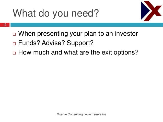 What do you need in a business plan