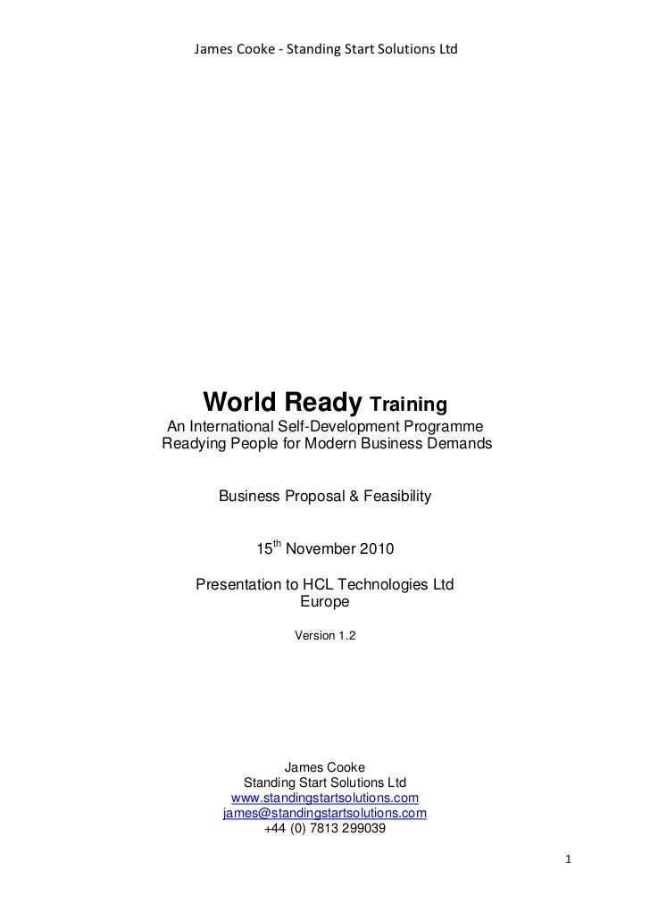 World Ready Proposal