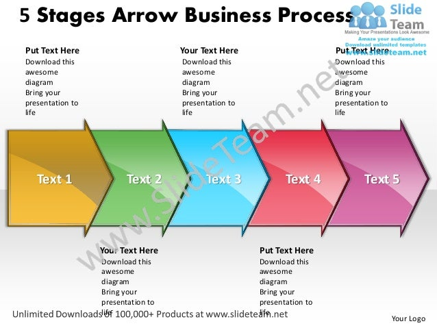 business power point templates 5 state diagram ppt arrow process sale. Black Bedroom Furniture Sets. Home Design Ideas