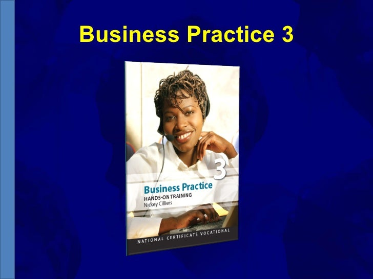 Business Practice 3