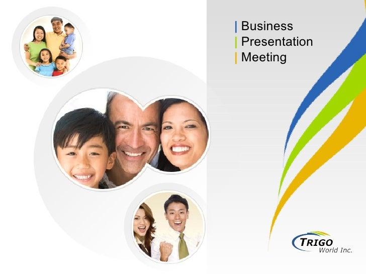 |   Business |  Presentation |   Meeting