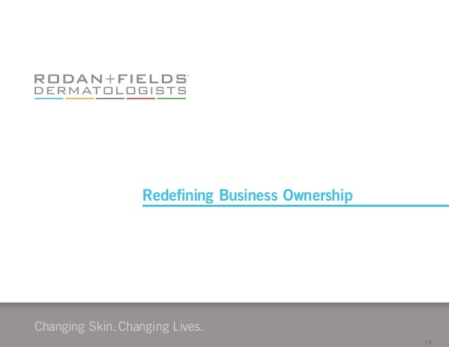 Changing Skin.Changing Lives. [1] Redefining Business Ownership
