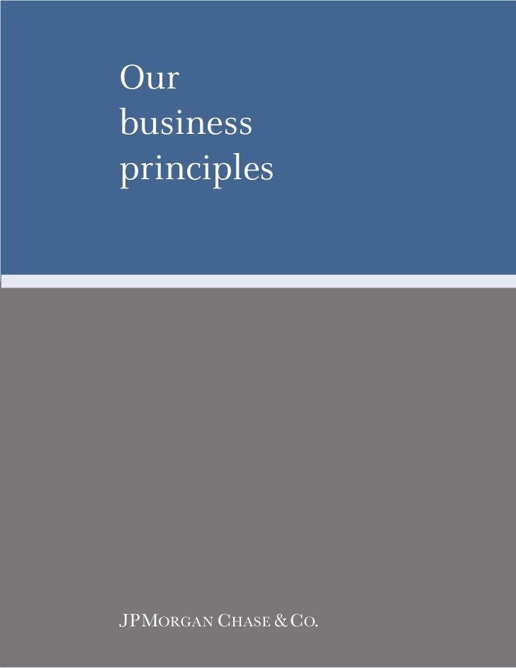 Ourbusinessprinciples
