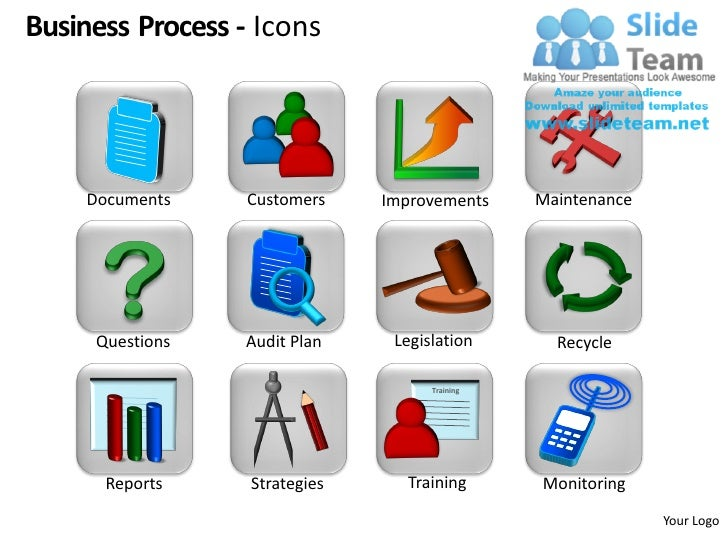 Business Process Design Powerpoint Presentation Slides Ppt