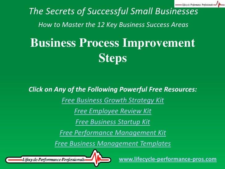 Video: Business Process Improvement Steps