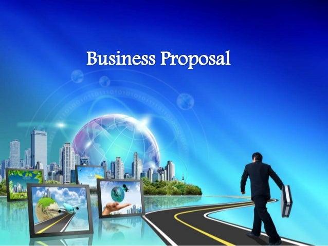 proposal presentation format