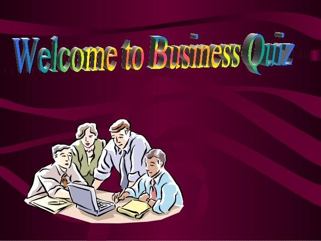 Kuldeep Sharma Business Quiz
