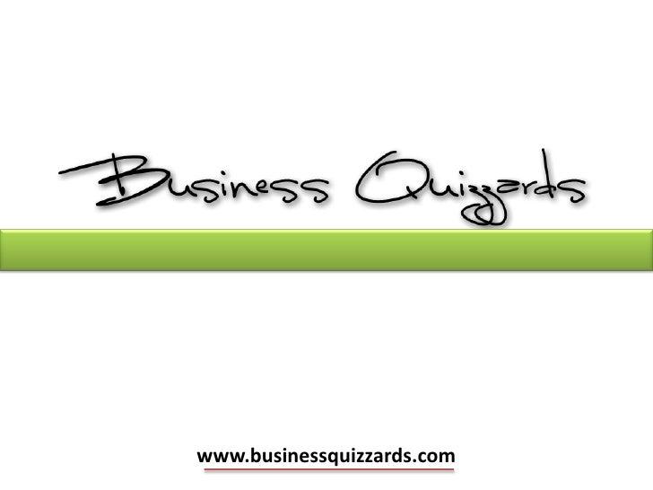 Business Quizzards Episode 2
