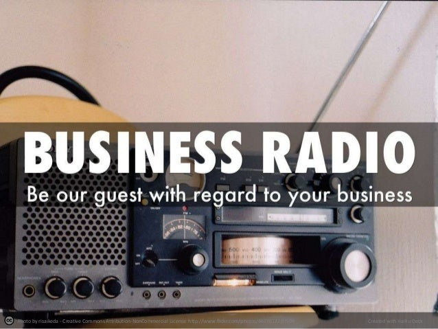 Business radio show for free - be our guest