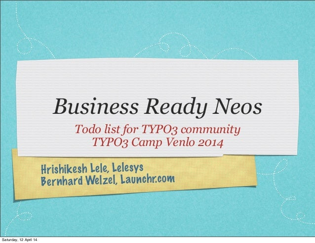 Business ready neos