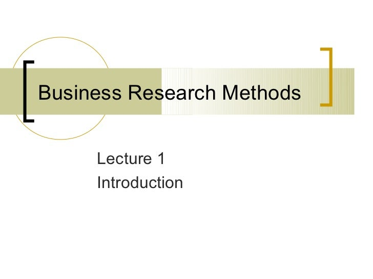 Business research methods 01 a12