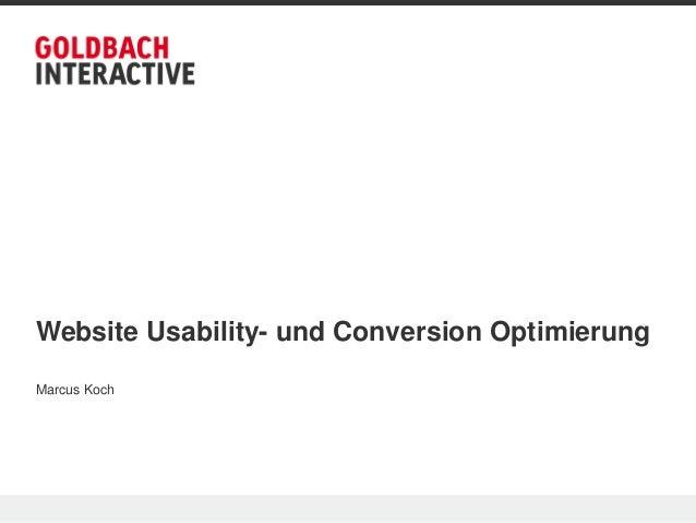 Business seminar – conversion rate optimierung