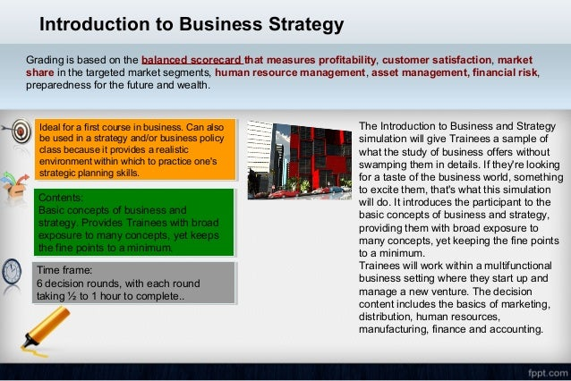 business strategy simulation analysis An online business strategy simulation new high-performing companies worldwide face off in a 2-week competition hosted 3 times a year by the glo-bus author team.