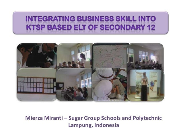 Mierza Miranti – Sugar Group Schools and Polytechnic Lampung, Indonesia