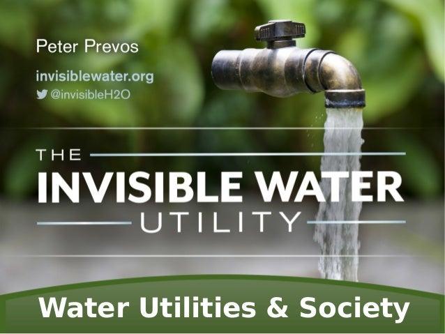 Water Utilities & Society