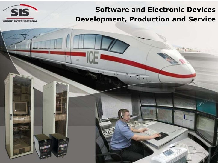 Proposal for Railways: Business software and electronic devices