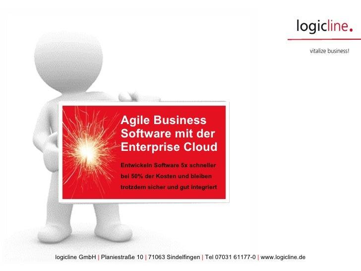 Agile Business Software mit der Enterprise Cloud