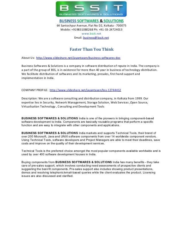 Business softwares doc