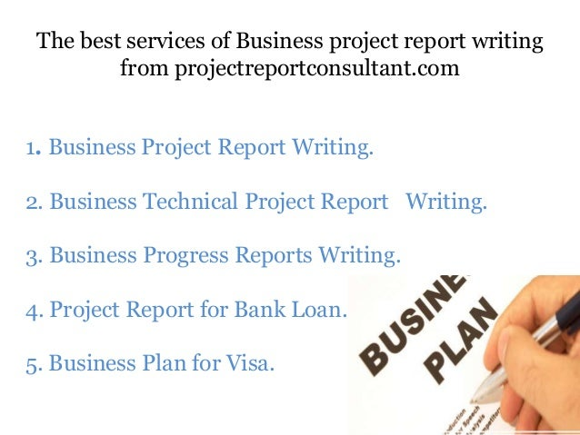 Business report writing services
