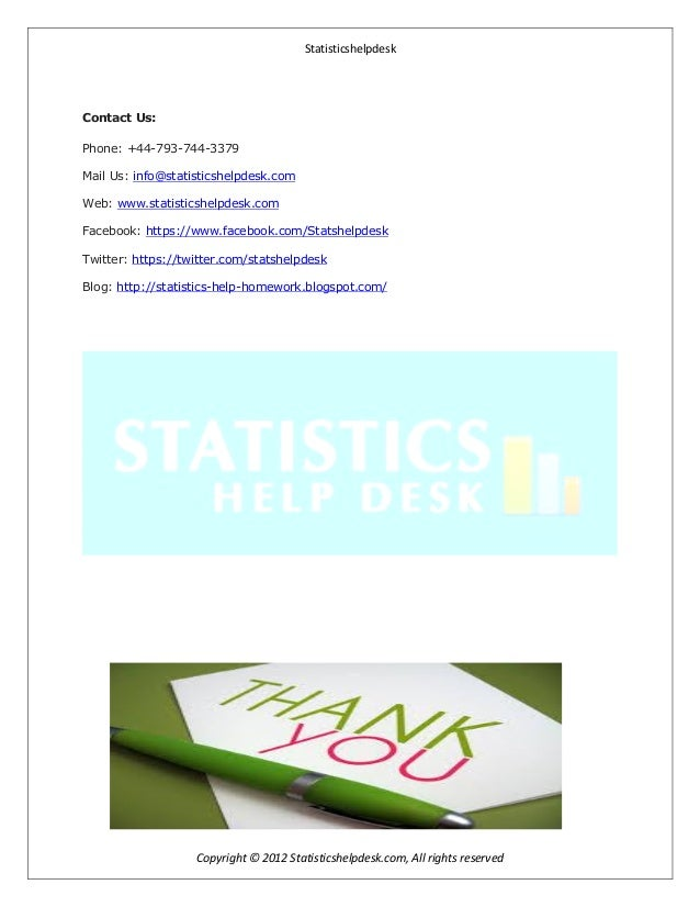 business statistics assignment Business statistics textbook solutions and answers from chegg get help now.