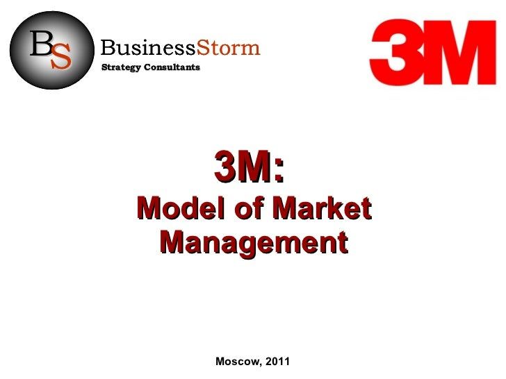3M:   Model of Market Management Moscow, 2011