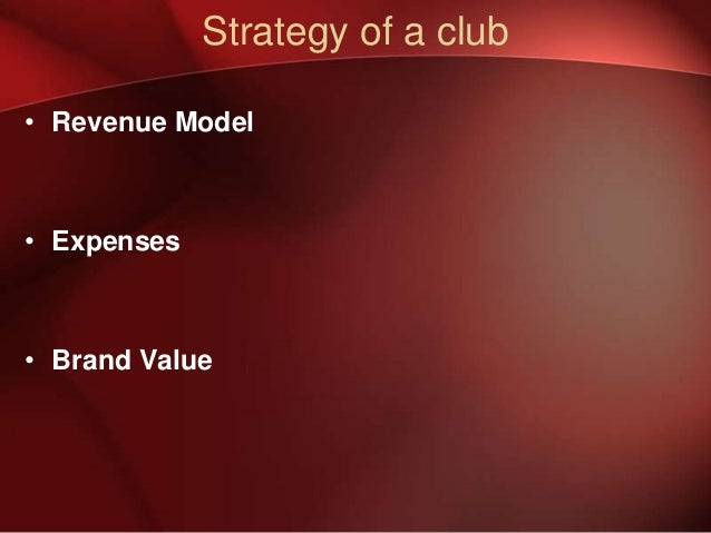 What is Chelsea FC business strategy?